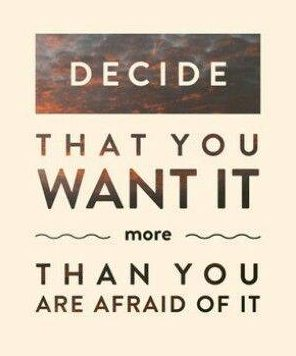 What I Learned This Week: Is It Worth It To You To Push Past Your Fears?